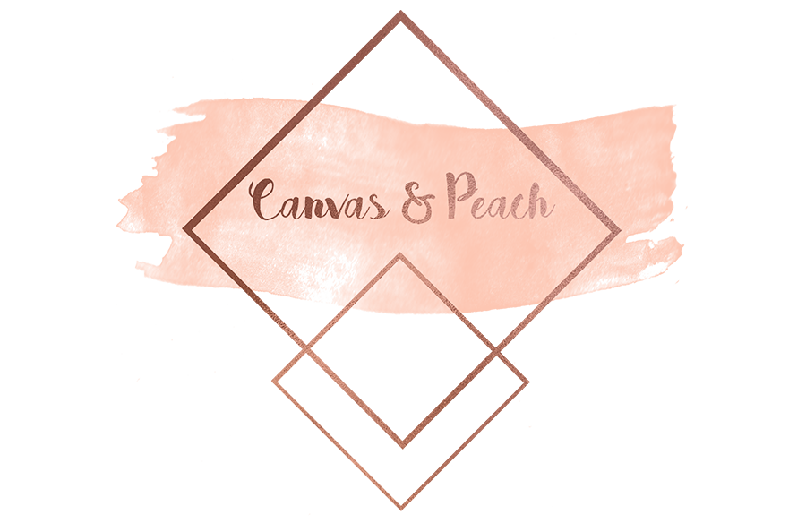 Canvas & Peach