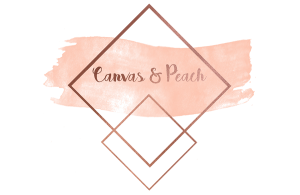 canvas and peach logo