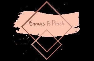 canvas and peach logo
